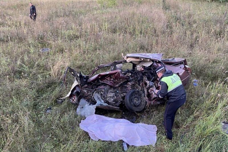 Автокатастрофа на трассе Липецк-Данков 5 сентября