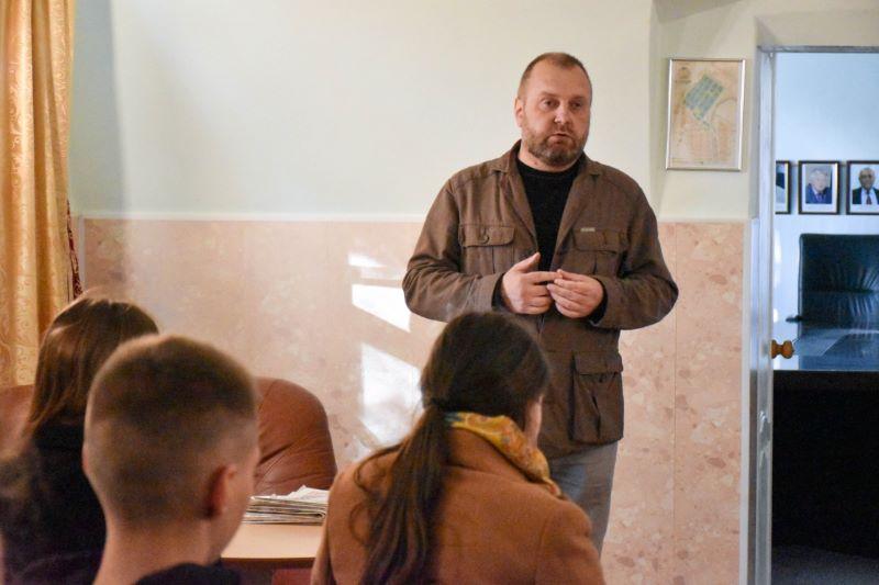 Студенты ВГУ в гостях на практике в Лебедяни