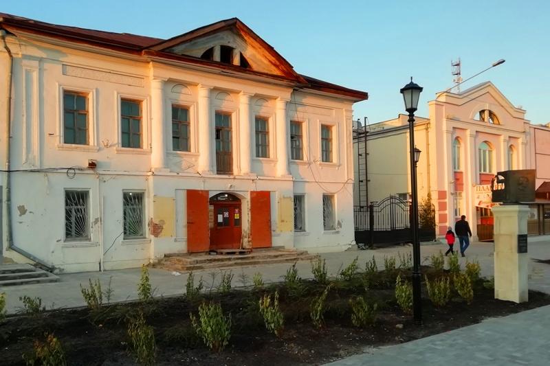 книжный магазин Чурилина в Лебедяни (2021)