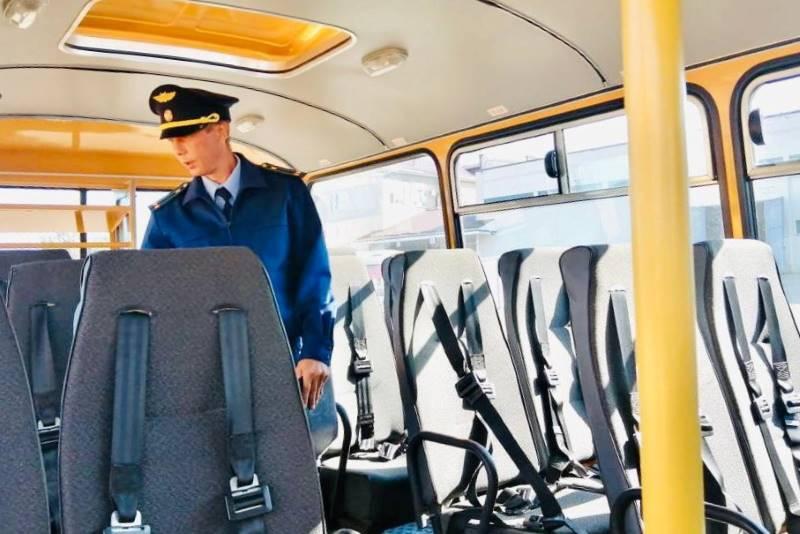Школьные автобусы проверили перед новым учебным годом