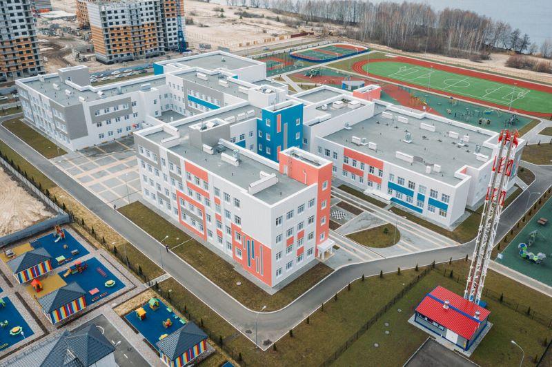 Проект новой школы в г. Лебедянь