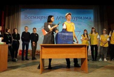 Конкурс студенческих команд в День туризма в Лебедяни