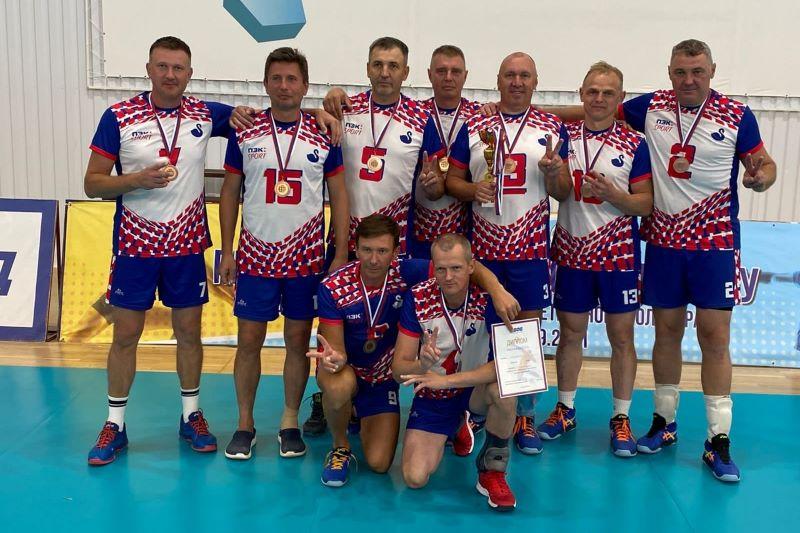 Волейболисты Лебедяни заняли третье место на Чемпионате России